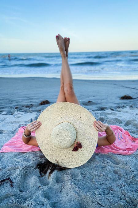 The cutest beach hat for summer 🌴☀️ Under $25! @liketoknow.it http://liketk.it/3i6rO #liketkit #LTKtravel #LTKswim #LTKunder50