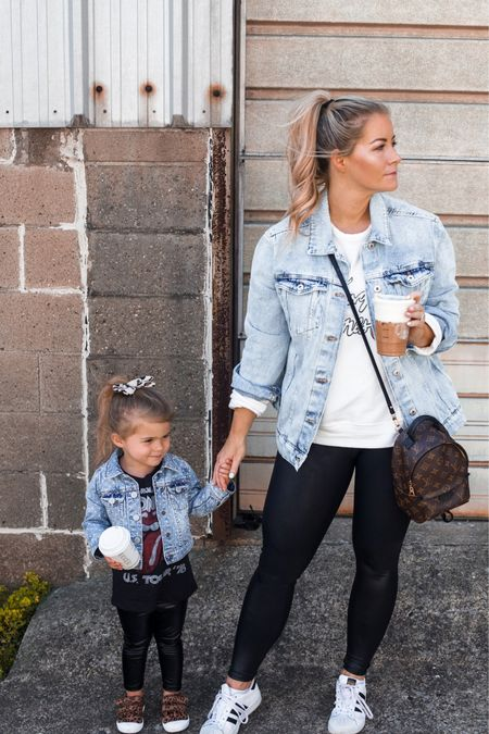 My fall uniform is on sale - live in Spanx faux leather leggings and a denim jacket! Anniversary Sale, Nordstro, Nsale http://liketk.it/3jBnY  #liketkit @liketoknow.it