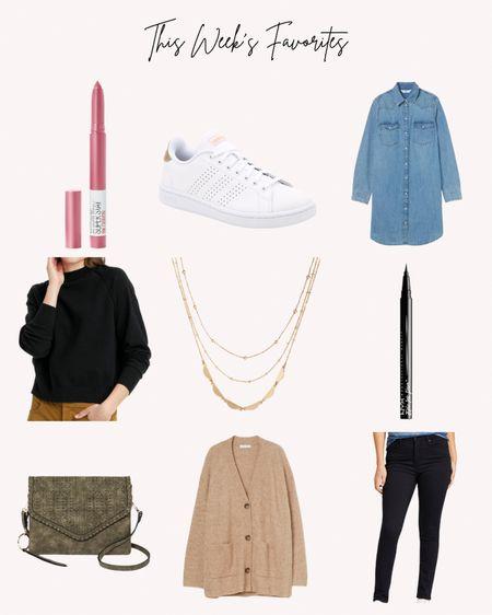 Favorites, most popular, women's clothing, shoes, sweaters, jeans, dresses, denim, beauty, makeup, tiered necklace  #LTKunder50 #LTKbeauty #LTKstyletip