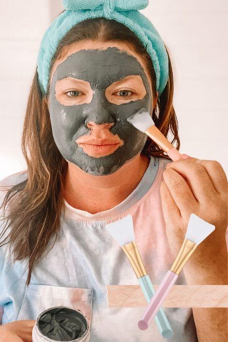 Sunday skincare with this amazing detox mask from B Virtual Health & Wellness. I'm linking the silicone mask brush set and my spa headband. http://liketk.it/3fUe0 #liketkit @liketoknow.it  #LTKbeauty self care  beauty