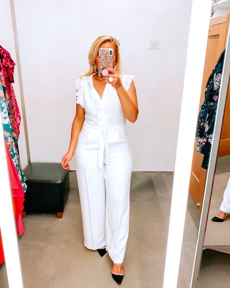 White pant suit http://liketk.it/2IX9v @liketoknow.it #liketkit