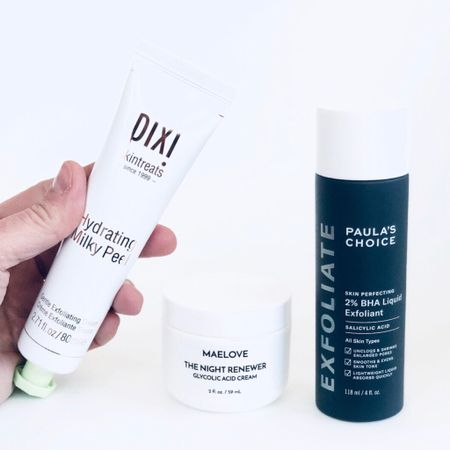 SPRING into that glowing skin you've always wanted! • Now is the time to use a gentle exfoliating acid to take off the dull, outer layer of skin and reveal the healthy, glowing skin cells underneath! http://liketk.it/2MS92 #liketkit @liketoknow.it