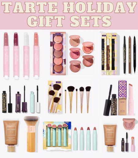 Tarte holiday gift sets $10 + up 🎁 . . . Gift guide, tarte, tarte cosmetics, gift guide for her, beauty lover gift guide, gift sets, makeup gift sets, Christmas gift ideas, holiday gift sets    #LTKunder50 #LTKGiftGuide #LTKHoliday