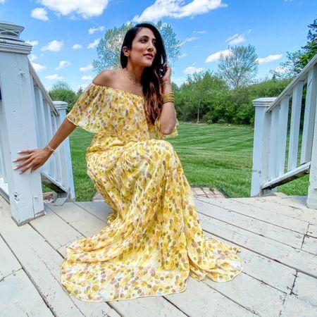 When a dress makes you shine like the sun! #maxidress #maxi http://liketk.it/3esL8 #liketkit @liketoknow.it #LTKwedding #LTKstyletip #LTKsalealert
