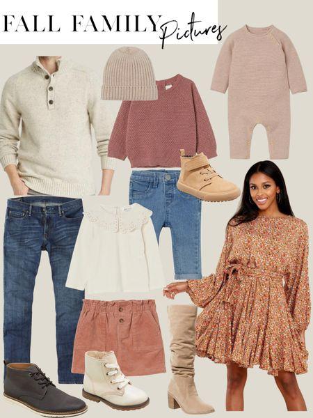 Affordable fall family photo outfit inspo!  #LTKunder50 #LTKsalealert #LTKunder100