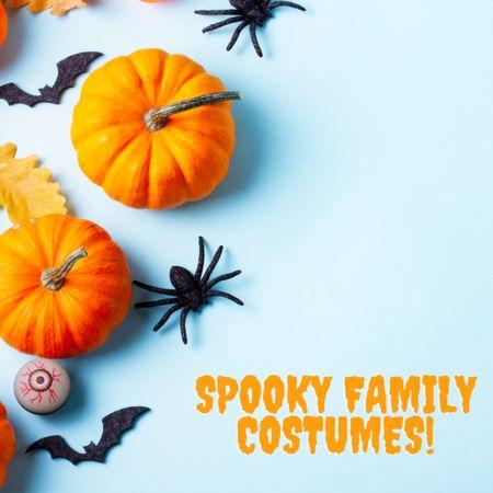 Timeless spooky costumes for the whole family!   #LTKkids #LTKSeasonal #LTKunder50