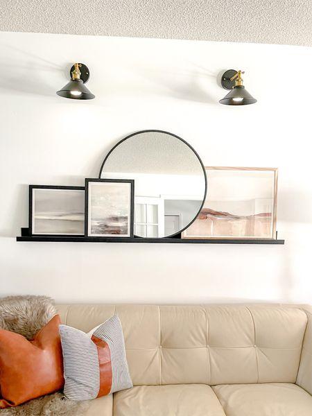 Shop my living room artwork!  #homestyle #artwork #watercolour #watercolourprints #livingroomdecor #livingroomstyle #artshelf #homedecor #homestyling #neutralhome  #LTKunder100 #LTKhome #LTKstyletip