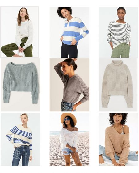 Style your sweaters through summer with these great options   Shop your screenshot of this pic with the LIKEtoKNOW.it shopping app @liketoknow.it #liketkit http://liketk.it/3arbU @liketoknow.it.home #LTKstyletip #LTKsalealert #LTKSeasonal