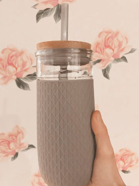 Reminder to drink your water!   This tumbler from Amazon is one of my favourites - it's glass and comes in multiple colours!   #LTKfamily #amazoncanada   #LTKbacktoschool #LTKhome #LTKunder50