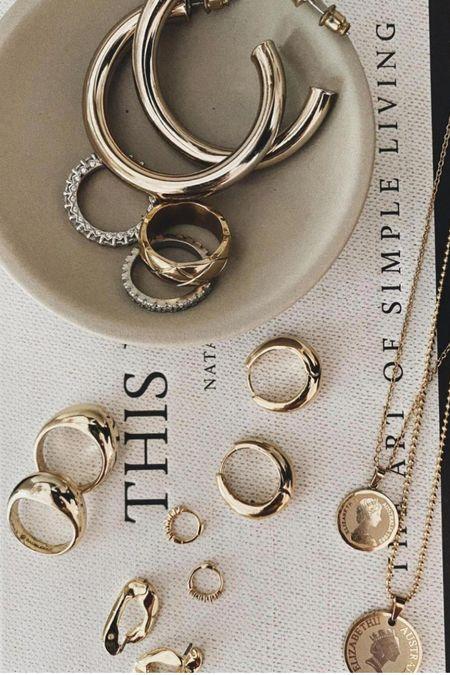 gold jewelry under $100 #jewelry   #LTKunder100 #LTKunder50