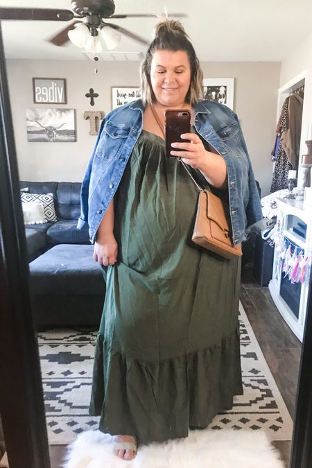 Grab this plus size maxi dress while you still can! These plus size summer dresses have been so popular and they are perfect to wear all summer into early fall!   #LTKcurves #LTKunder50 #LTKSeasonal