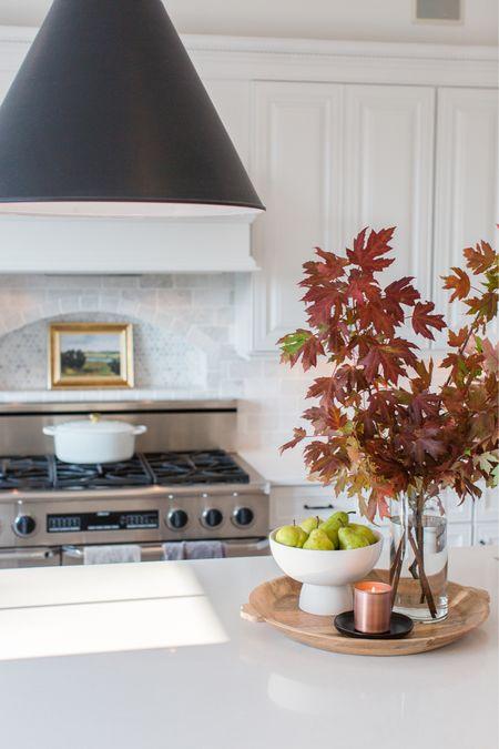 Kitchen, fall decor art, cook, cabinets, countertop   #LTKSeasonal #LTKhome #LTKfamily