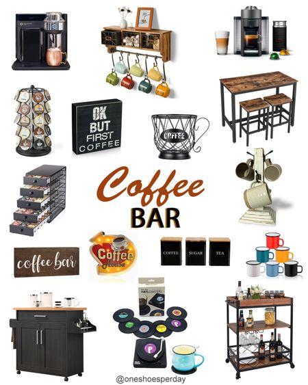 Amazon Finds  Coffee Bar           http://liketk.it/3pRqD @liketoknow.it #liketkit #LTKGiftGuide #LTKHoliday #LTKSeasonal #LTKsalealert #LTKunder50 #LTKstyletip  #LTKhome Home Decor | Dining room Decor | Living Room Decor | Kitchen essentials | Amazon Favorites |
