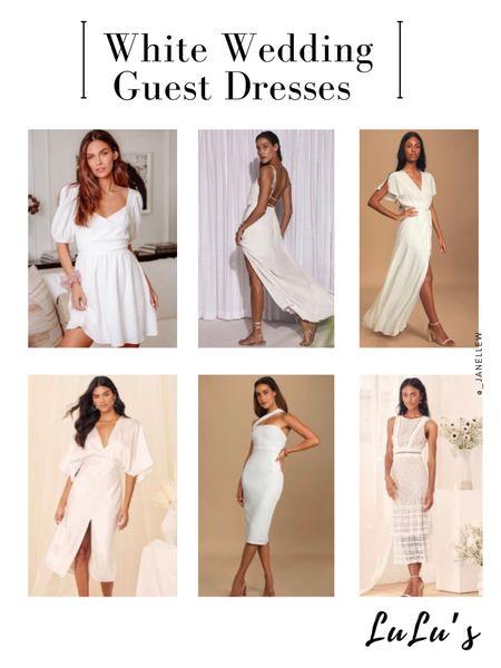 White Dresses from LuLu's.  @liketoknow.it http://liketk.it/3gVww   #liketkit #LTKwedding #LTKstyletip #LTKunder100