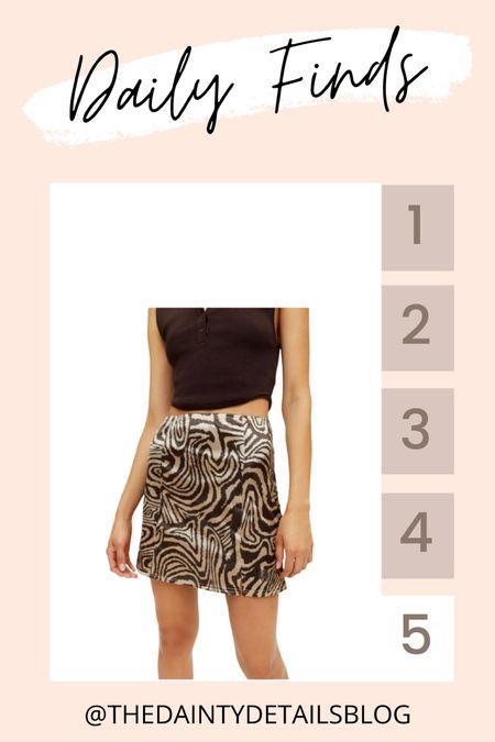 Daily finds: cutest mini skirt under $50!   #LTKstyletip #LTKunder50