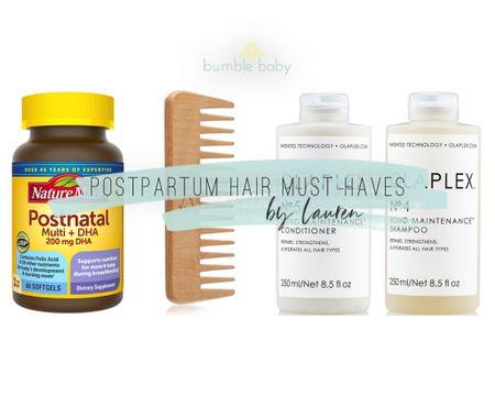 Lauren's favorite products to combat postpartum hair loss! @liketoknow.it #liketkit #LTKunder100 #LTKunder50 #LTKbeauty http://liketk.it/2VvLh
