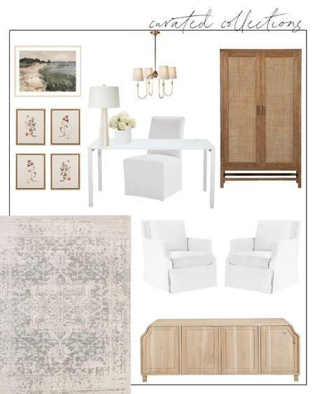 Home Office, Home Office Design, Home Office Furniture, Home Office, Home Office Decor, Home Office Desk, Office Chair, Office Desk, Home Office Chair, Office Cabinet  A sneak peek at my home office plans for this fall 🍂 Can't wait to share the full reveal! #homeoffice #mcgeeandco #vintagerug
