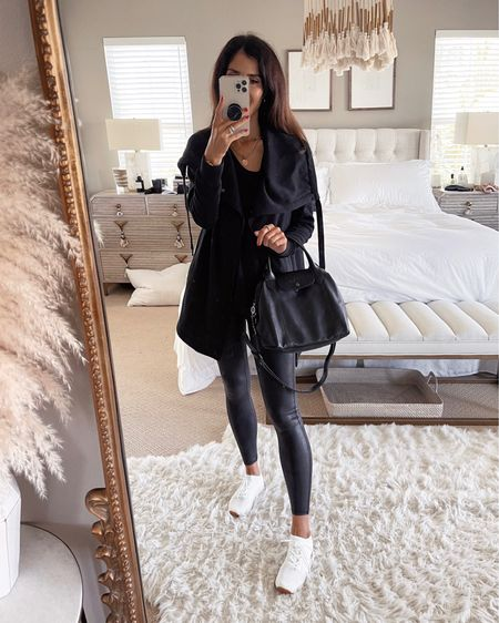 Size xsmall jacket ). I'm wearing, size small spanx leggings- order 1 size up, I'm just shy of 5'7 for reference Nordstrom anniversary sale, Nsale, Nordstrom, fall outfit, StylinbyAylin #liketkit http://liketk.it/3kGNL  @liketoknow.it