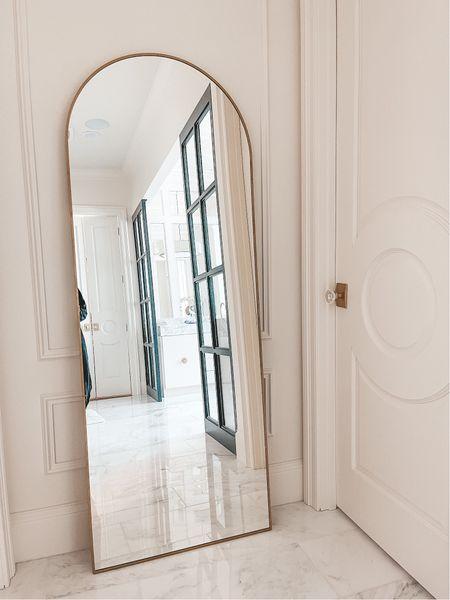 Arch floor length mirror on sale!  #LTKhome