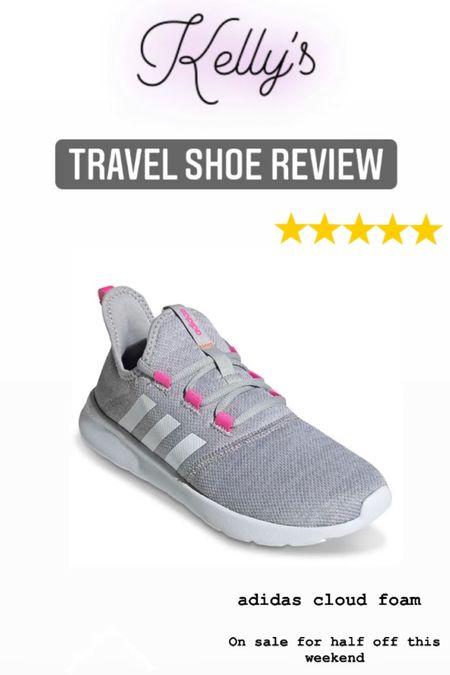 Best Travel Shoes for the summer! These Adidas are half off this weekend!!!  #liketkit http://liketk.it/3jbzY @liketoknow.it #LTKfit #LTKsalealert #LTKtravel