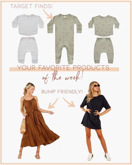 Your favorite products of the week! // weekly best sellers, bump friendly, baby, dresses http://liketk.it/3j2rj #liketkit @liketoknow.it #LTKstyletip #LTKbump #LTKbaby