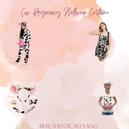 Cow Pregnancy Halloween Costume   #LTKHoliday #LTKbump #LTKstyletip