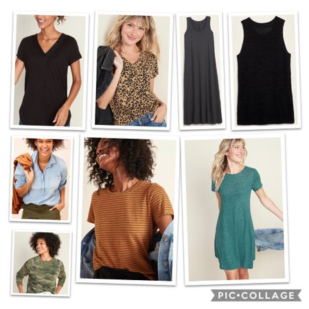 Tops and dresses to add to your fall wardrobe! All 30% off at Old Navy or 50% off if you have the app!   http://liketk.it/2TB2D #liketkit @liketoknow.it #LTKunder50 #LTKsalealert