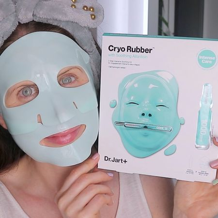 With all this beautiful warm weather we've been having, cooling skincare has been my go to lately. These two step rubber face masks from Dr JART are my summer saviour for refreshed, hydrated and renewed skin. All you do is pop the mask in the fridge 20 to 30 minutes prior to application, I find these the perfect treatment to incorporate into your PM Routine. Next be sure to Cleanse and Tone beforehand and then start by applying the Step 1 Ampoule all over the face, Step 2 is the fun part applying the mask starting of with the bottom portion and then the top. Upon application both the ampoule and the face mask feel amazing after being in the fridge I also like the fact the mask fits well to the contours of my face. Leave this on for 30-40 Minutes and then gently massage in any excess or leftover serum in the sachet into the hands, neck and chest. (Ad-Gifted) @liketoknow.it.europe #LTKbeauty #LTKeurope #LTKtravel  http://liketk.it/3iGvd #liketkit @liketoknow.it