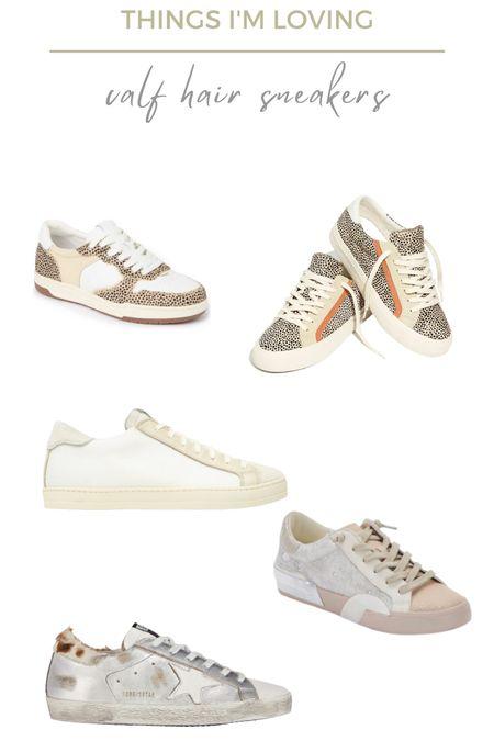 Fall trend alert: calf hair sneakers! Here are a few styles im loving   #LTKshoecrush #LTKunder100 #LTKSeasonal