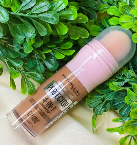 ⭐️NEW - Maybelline's 4-in-1 Perfector.    Instant Age Rewind Instant Perfector 4-In-1 Glow Makeup is Maybelline's 1st 4-in-1 makeup for a perfected glow look that primes, conceals, highlights, and evens skin tone with light coverage. Self-adjusting shades that blend into skin tone.  Benefits  Maybelline's 1st 4-in-1 makeup for a perfected glow look Primes, conceals, highlights, and evens skin tone with light coverage Built-in sponge applicator for an easy, quick application Self-adjusting shades that blend into skin tone   #LTKtravel #LTKunder50 #LTKbeauty