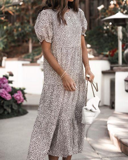 Amazon fashion, wearing size small dress, I'm just shy of 5'7 for reference, amazon dress, summer dress, beach dress, casual date night look, amazon sandals, StylinbyAylin @liketoknow.it #liketkit http://liketk.it/3ia8q                       #LTKstyletip #LTKunder50 #LTKunder100