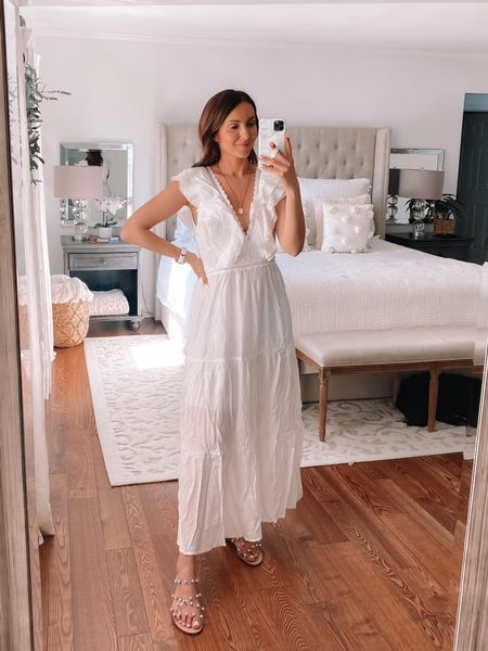 amazon white dress, amazon fashion #anna_brstyle http://liketk.it/3gl36 #liketkit @liketoknow.it