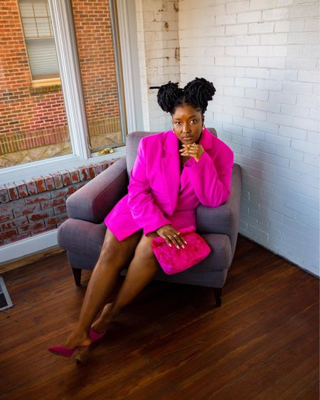 Pink monochrome giving a candy look. I just love this outfit.  Follow me on INSTAGRAM @wonder.fro for more looks and pictures http://liketk.it/3cDaX #liketkit @liketoknow.it #LTKshoecrush #LTKcurves #LTKunder50