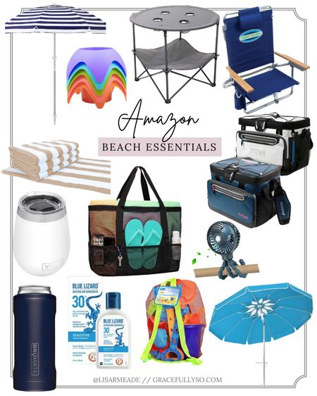 Beach Essentials from Amazon http://liketk.it/3gKG9 #liketkit @liketoknow.it #amazon #AmazonFinds #AmazonPrime #BeachEssentials #Beach #Summer #Vacation #BeachVacay #beachitems #umbrella #Cooler #Fan