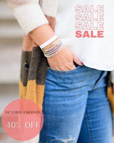 Victoria Emerson 40% off sale  Sale  Victoria Emerson  Jewelry    #LTKunder100 #LTKsalealert #LTKstyletip