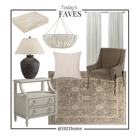 Nightstand, rug, chair, lamp, pillow, chandelier, box, loving room, bedroom, family room, pottery barn, Amazon, Wayfair, target   http://liketk.it/3h8WQ #liketkit @liketoknow.it #LTKhome #LTKstyletip #LTKfamily @liketoknow.it.home