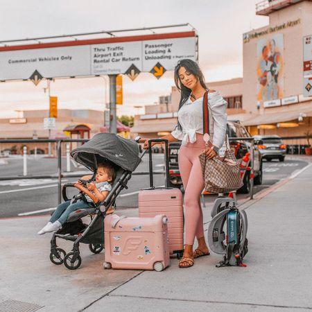 Travel with baby toddler car seat stroller plane  #LTKbaby #LTKtravel #LTKfamily