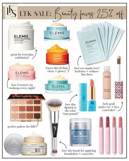 LTK Sale: 25% off some of my fave beauty brands ✨  #LTKSale #LTKDay #LTKbeauty
