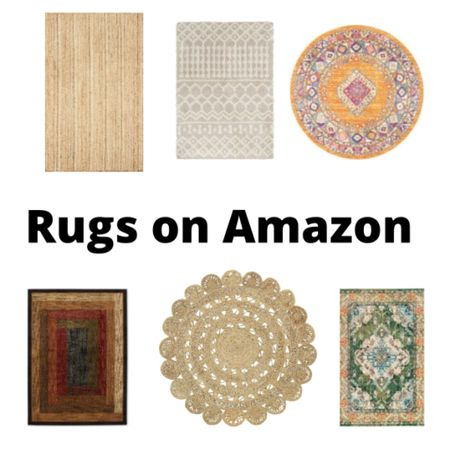 Everyone can use a new throw rug. #LTK #rugs  #LTKhome