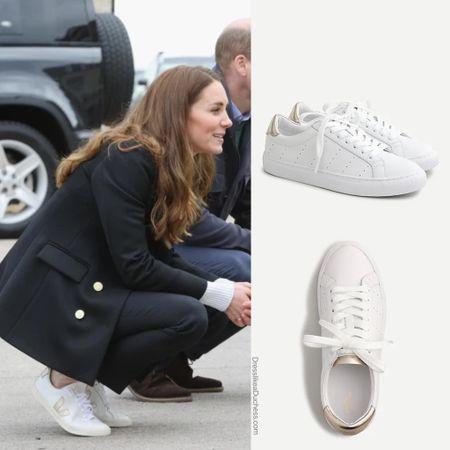 Replikate gold metal detail sneakers at JCrew #shoes #casualstyle #vans #adidas  #LTKsalealert #LTKstyletip