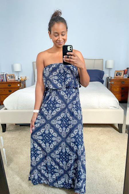 Affordable maxi dress perfect for summer. Amazon finds. #LTKunder50 http://liketk.it/3ezFl #liketkit @liketoknow.it   Follow me on the LIKEtoKNOW.it shopping app to get the product details for this look and others