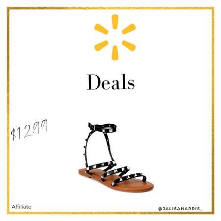 Gladiator Sandals from Walmart  #liketkit #LTKshoecrush #LTKstyletip #LTKsalealert   http://liketk.it/3jWV5 @liketoknow.it