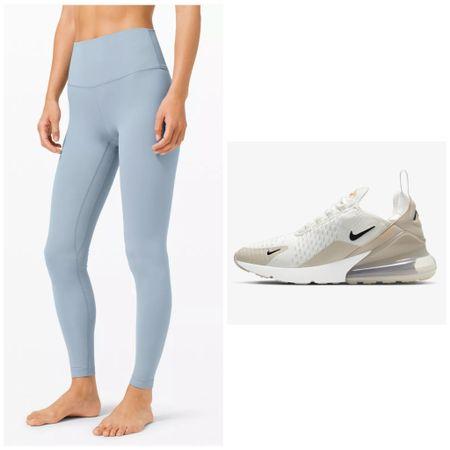 Lululemon Align Pant Leggings. Nike AirMax 270 Sneakers.   #LTKunder100 #LTKsalealert #LTKfit