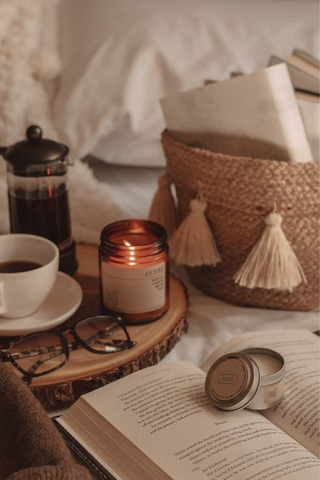 A court of warm coffee and flickering candles ☕️🕯 http://liketk.it/3aILG @liketoknow.it #liketkit #LTKhome #StayHomeWithLTK