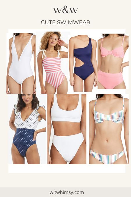 I am all about chic one pieces and high waisted bikinis this summer! Here are my favorites from Shopbop and Summersalt right now @liketoknow.it http://liketk.it/3h1BO #liketkit #LTKswim
