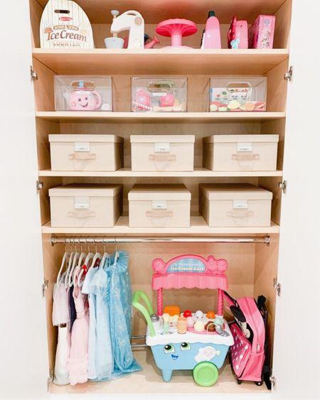 Kid's dress-up and toy closet!  #LTKkids #LTKbacktoschool #LTKhome