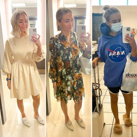 1, 2, or 3?! 🤣 started out cute and then … just went downhill. At least I got this sweet NASA sweatshirt at the airport 🌙   #LTKSeasonal #LTKtravel #LTKstyletip