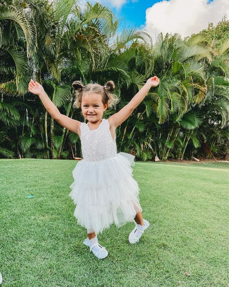 Sweet white lace summer dress for baby girls and toddlers!! ☀️🤍 perfect graduation dress, communion or flower girl dress too!! Only $29 http://liketk.it/3gKDS #liketkit @liketoknow.it @liketoknow.it.family #LTKfamily #LTKkids #LTKunder50