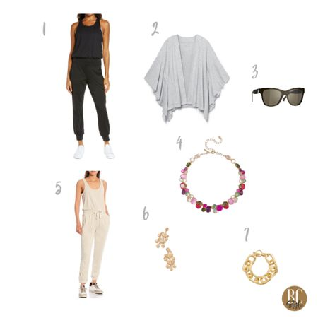 #summervacation time starting to heat up, look like first class in a neutral jumpsuit amped up with stylish accessories. http://liketk.it/3jboI #liketkit @liketoknow.it #LTKtravel #LTKstyletip #LTKshoecrush Shop your screenshot of this pic with the LIKEtoKNOW.it shopping app