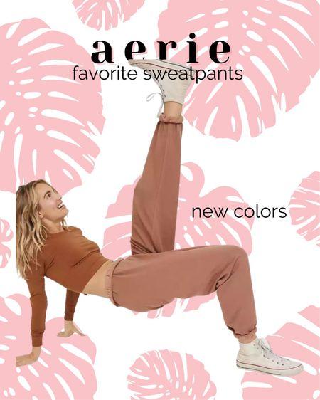 New colors in favorite sweatpants  http://liketk.it/3jON4 #liketkit @liketoknow.it #LTKunder50 #LTKstyletip #LTKsalealert